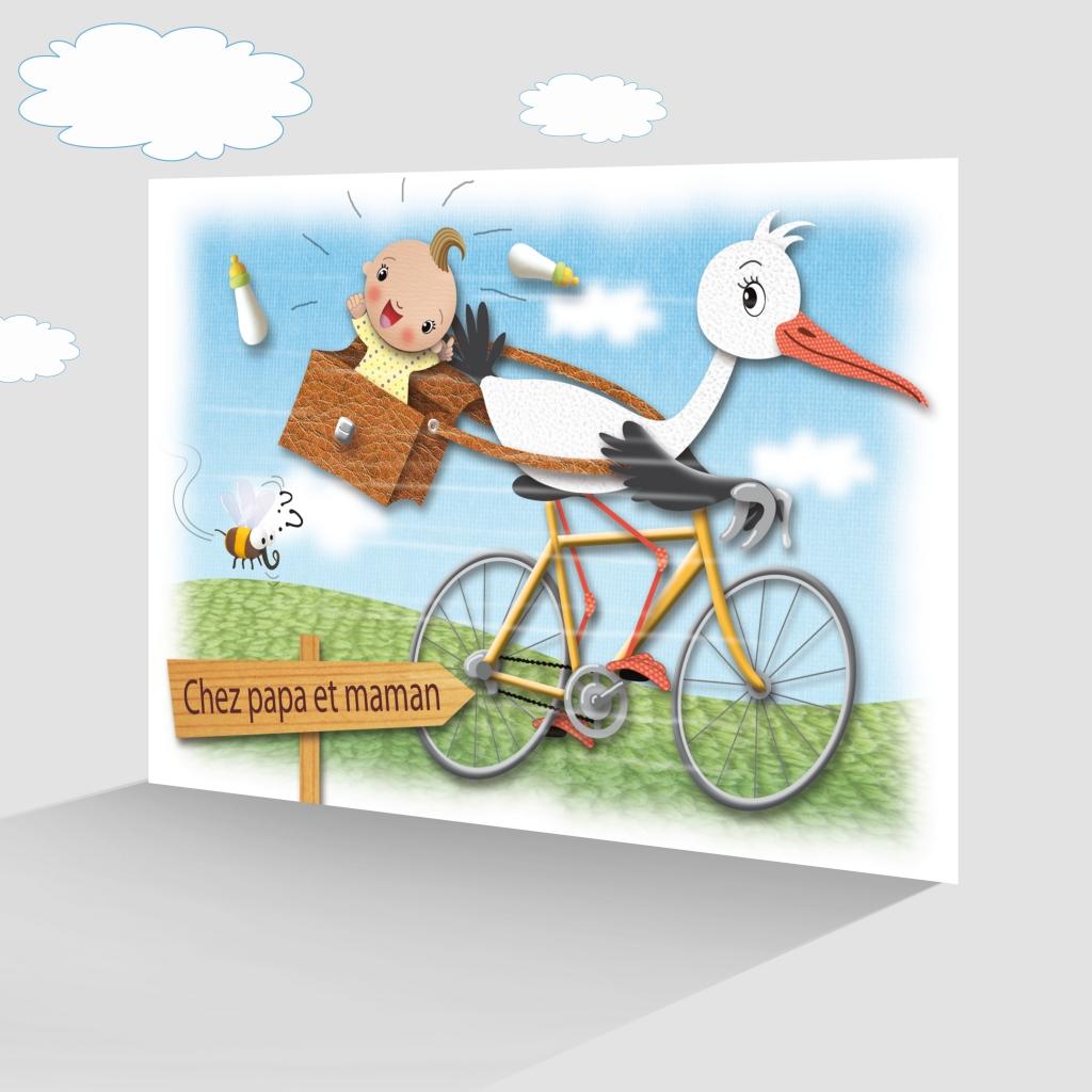 Faire Part De Naissance Spécial Fans De Vélo